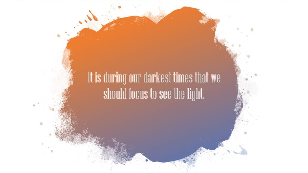 quotes about mental health during darkest times